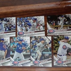 Other - 7 Chicago Cubs Holiday Snowflake Bryant Rizzo